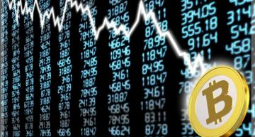 Cryptocurrency market is down over 50%